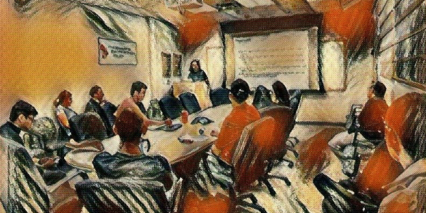Conference room painting