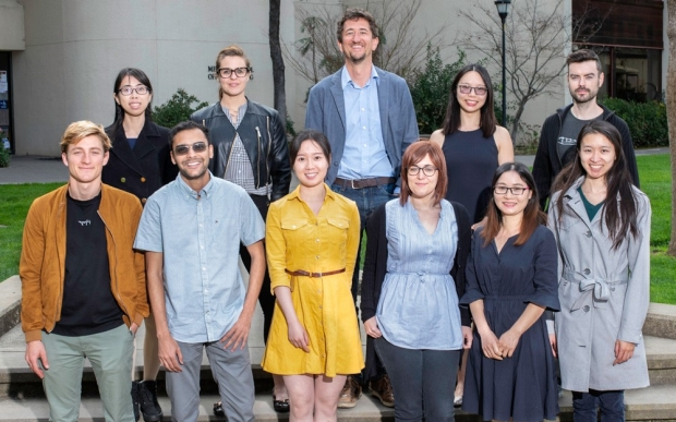 Group picture of researchers